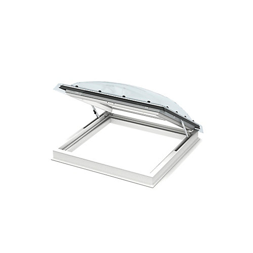 Flat Roof Exit Skylight for rough opening 47 1/4 x 47 1/4 with ISD Dome