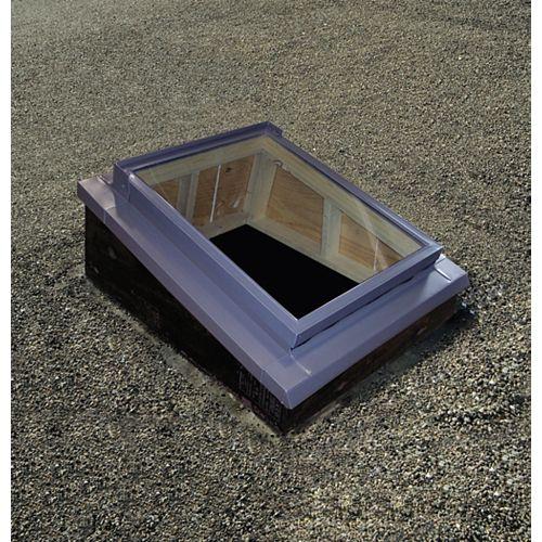 Contre-solin pour toit à faible pente - taille série S