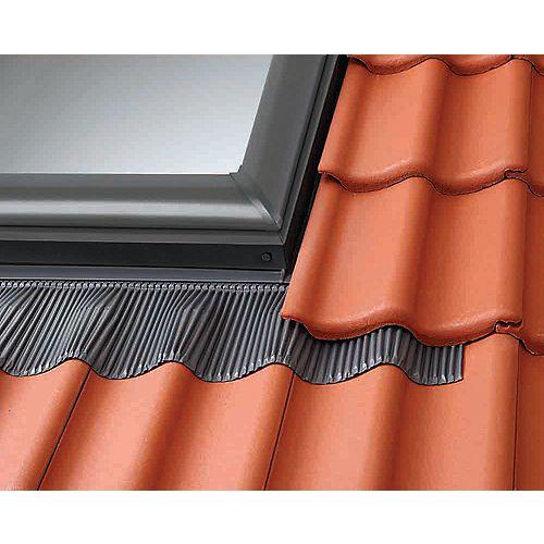 Solin toiture relief élevé - fenêtre de toit cadre intégré - cadre extérieur: 52 3/4 po x 38 1/2 po