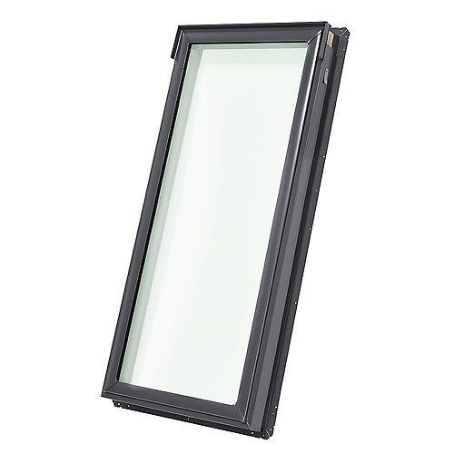 FS Puits de lumière fixe avec cadre intégré D06-cadre ext. 23 1/4 po x 46 1/4 po-vitrage laminé LoE3