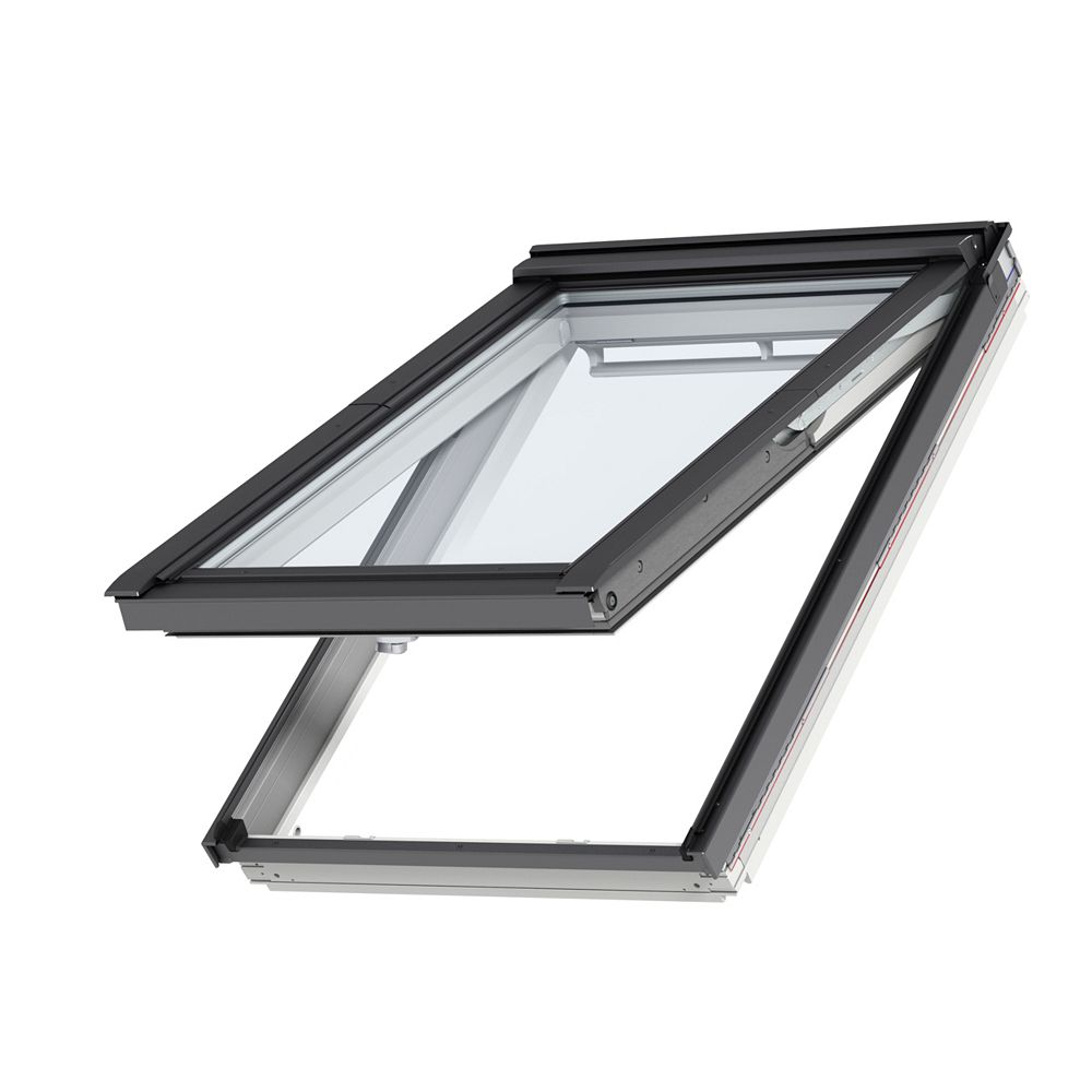 VELUX GPL-Top Hinged roof window- Comfort Plus glass - (10-Pack) - outside frame 37 1/8 inch x 63 inch