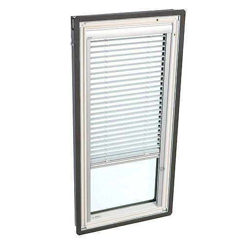 White- Manual Venetian Blinds for Fixed Deck Mount -FS C06