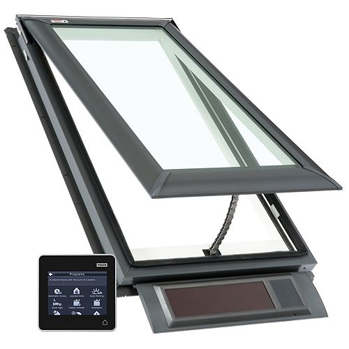 Retractable insect screen for Roof Window FK width