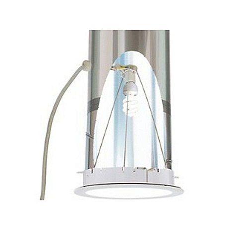 ZTL Trousse d'éclairage électrique pour tunnels de lumière Sun Tunnel VELUX de 10 ou 14 po.