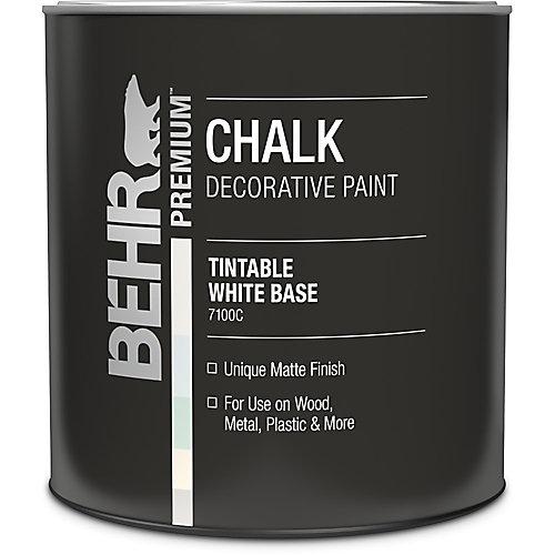Peinture-craie décorative - Base blanche