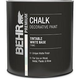 Chalk Decorative Paint - White Base, 946 mL