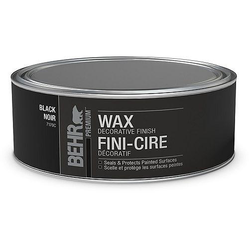 BEHR Wax Decorative Finish - Black, 227 g