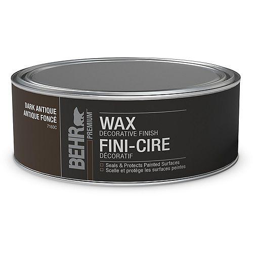 Wax Decorative Finish - Dark, 227 g