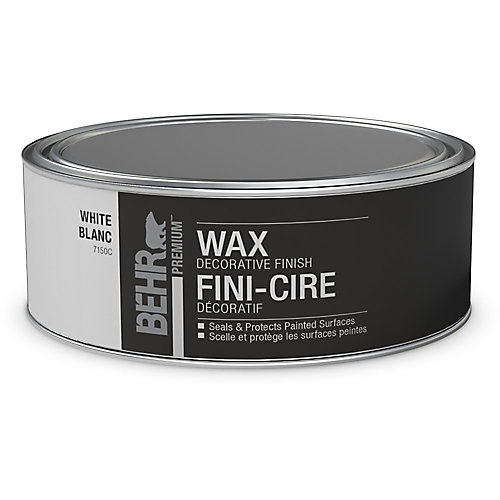 Decorative White Finish Wax for Chalk Paint