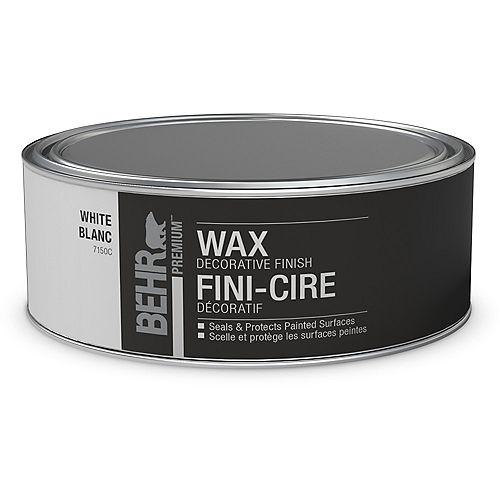 Wax Decorative Finish - White, 227 g