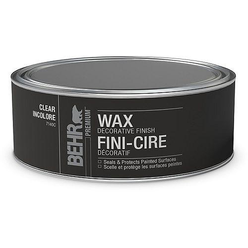 Wax Decorative Finish - Clear, 227 g