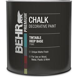 BEHR Chalk Decorative Paint - Deep Base, 946 mL