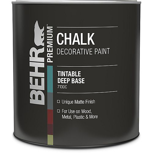 Chalk Decorative Paint - Deep Base, 946 mL