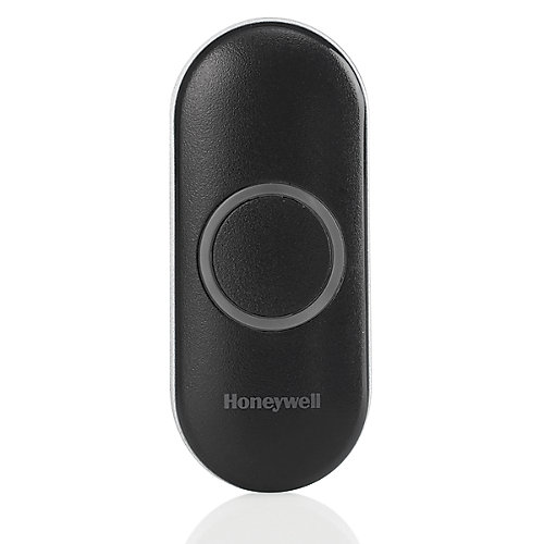 Black Wireless Push Button