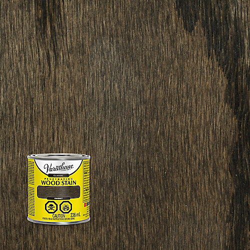 Classic Penetrating Oil-Based Wood Stain In Ebony, 236 mL