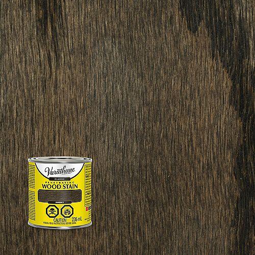 Teinture à bois classique pénétrante à base d'huile à l'ébène, 236 mL