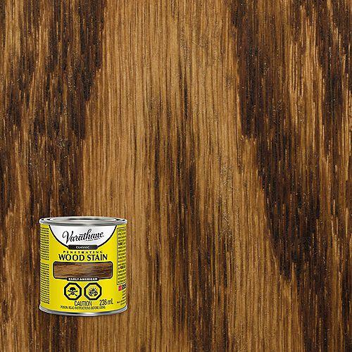 Teinture à bois classique pénétrante à base d'huile dans Early American, 236 mL