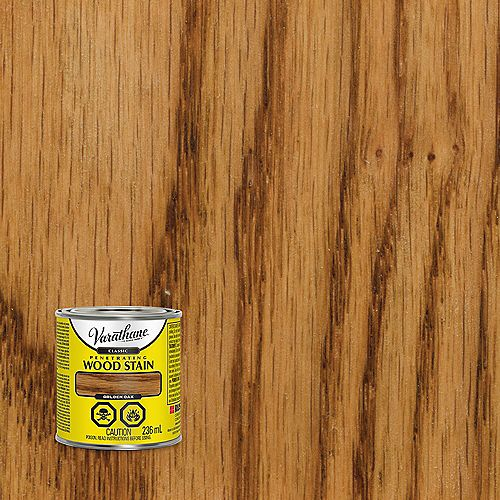 Classic Penetrating Oil-Based Wood Stain In Golden Oak, 236 mL