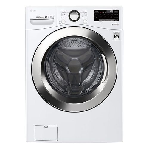 5.2 cu. ft. Front Load Washer with Ultra Large Capacity Washer and 6Motion Technology and White, Stackable - ENERGY STAR®