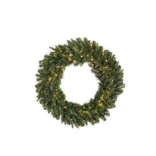 30-inch 500-Light Warm White LED Twinkle Christmas Wreath