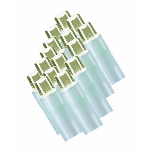 Home Accents Guirlande lumineuse à 100 ampoules à DEL «grain de riz», 8 fonctions, blanc chaud, blanc