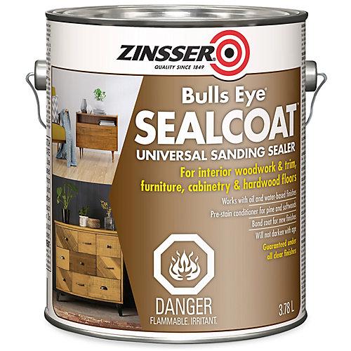 Bulls Eye Sealcoat Apprêt À Poncer Universel Pour Surfaces De Bois Intérieures - 3.7 L
