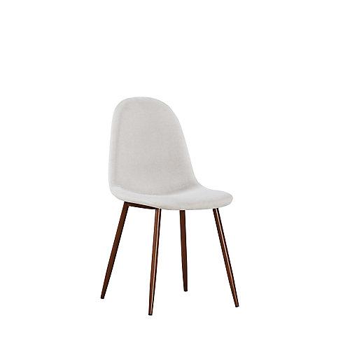 Elm ensemble de deux chaise, crème