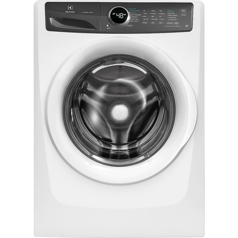Electrolux 5.0 cu. ft. Front Load Washer with LuxCare Wash System in White - ENERGY STAR®