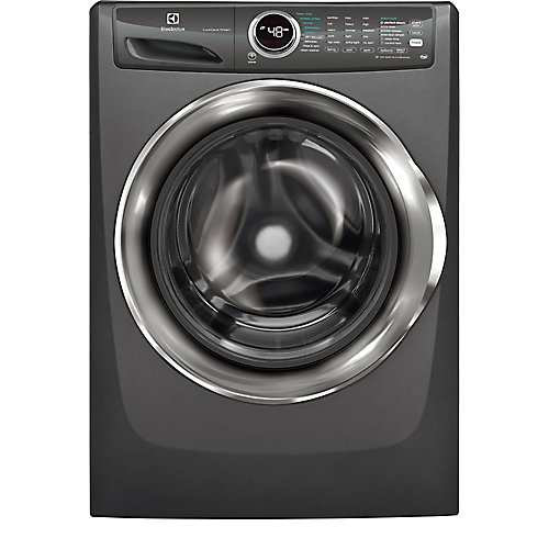 5.0 cu. ft. Front Load Washer with Steam in Titanium - ENERGY STAR®