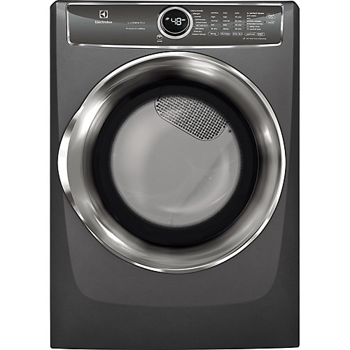 8.0 cu. ft. Front Load Perfect Steam Electric Dryer in Slate - ENERGY STAR®