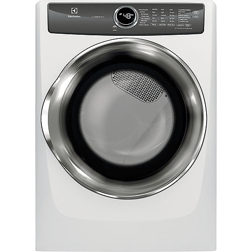 Electrolux 8.0 cu. ft. Front Load Gas Dryer with Instant Refresh in White - ENERGY STAR®