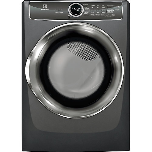 8.0 cu. ft. Gas Dryer with Steam, Predictive Dry and Instant Refresh in Titanium - ENERGY STAR®