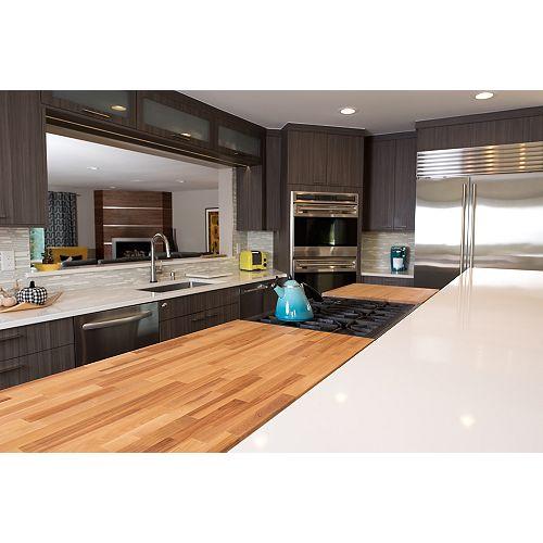 Hardwood Reflections Solid Butcher Block Countertop
