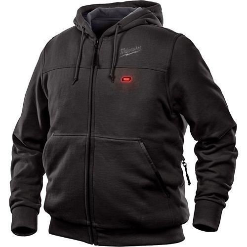 Sweat à capuche pour homme M12 12V Lithium-Ion sans fil sans fil 12V noir chauffant (veste seulement)