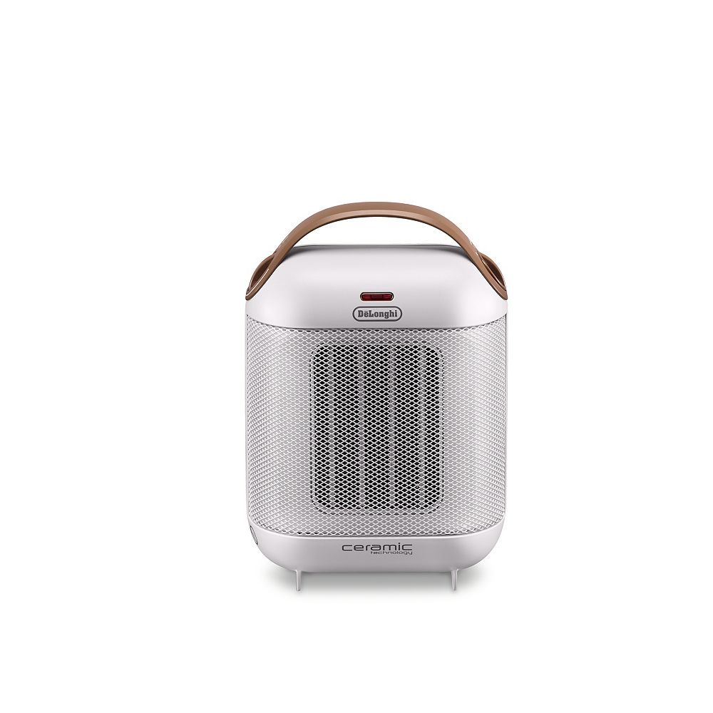 DeLonghi Capsule Ceramic Heater White HFX30C15