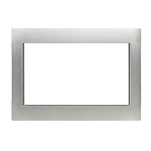 30-inch Trim Kit for Countertop Microwave Oven in Stainless Steel