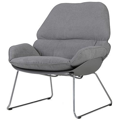Finn Accent Chair-Dark Grey