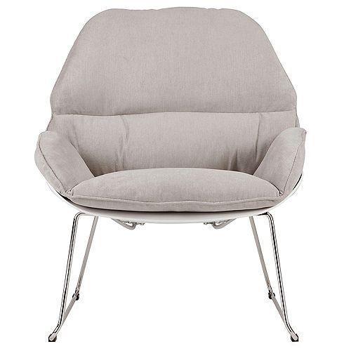 Finn Accent Chair-Light Grey