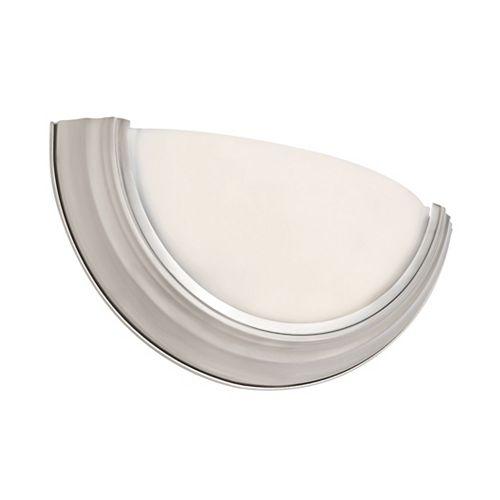 Bel Air Lighting Ray 1-Light Brushed Nickel Sconce