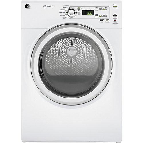 7.0 cu.ft capacity frontload electric dryer - white - ENERGY STAR®