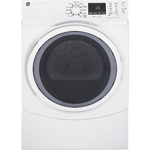 7.5 cu.ft capacity frontload gas dryer - white - ENERGY STAR®