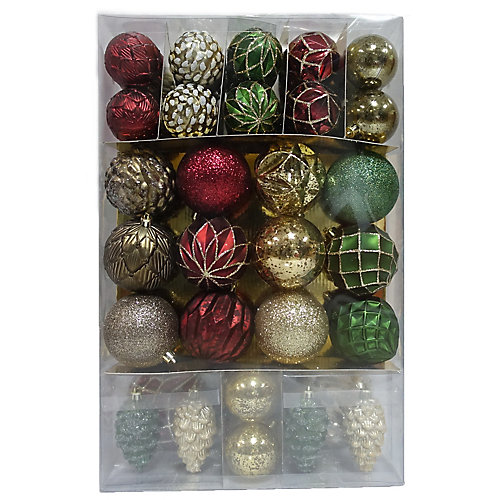Shatter-Proof Christmas Ornament (66-Pack)