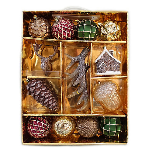 Indoor Ornaments (Assorted 14-Pack)