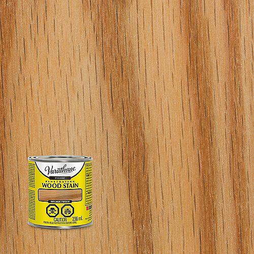 Penetrating Oil-Based Wood Stain in Golden Pecan, 236 mL