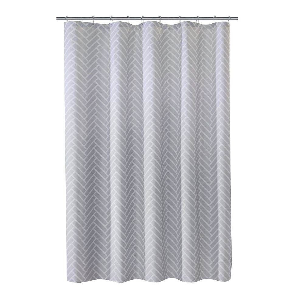 Couture Tiles Fabric Shower Curtain 70 inch x 72 inch