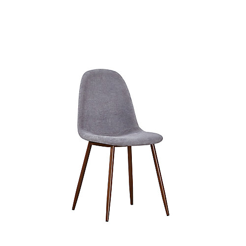 Elm Side Dining Chair in Grey (Set of 2)