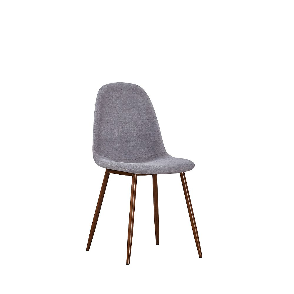 Elm Side Dining Chair in Grey (Set of 6)