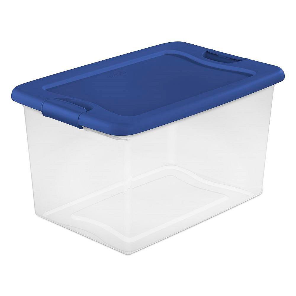 Sterilite 60L Boîte de loquet