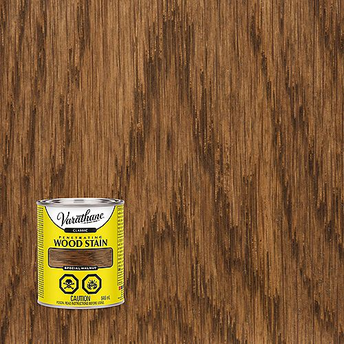 Penetrating Oil-Based Wood Stain in Special Walnut, 946 mL