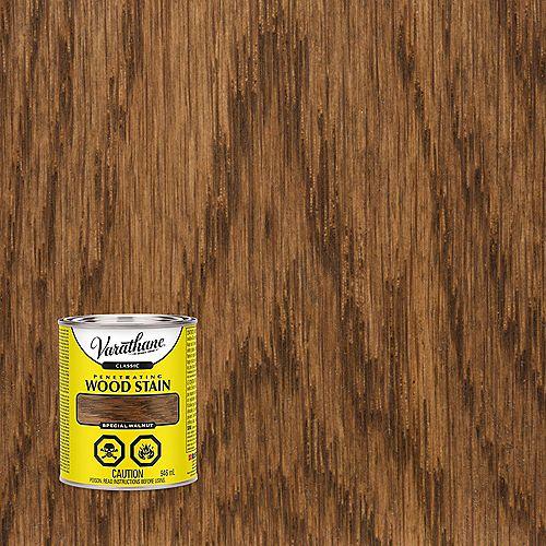 Teinture à bois classique pénétrante à base d'huile en noyer spécial, 946 mL